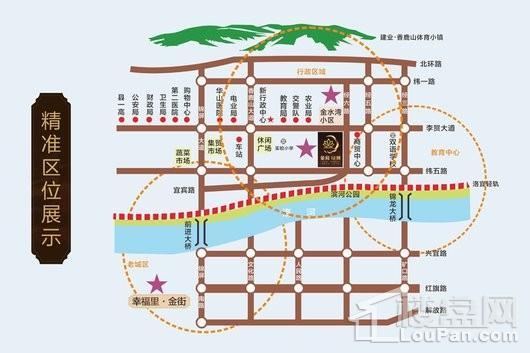 金荷绿洲交通图