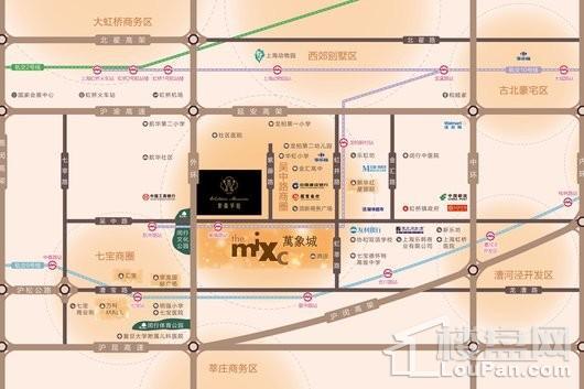 紫藤华庭交通图