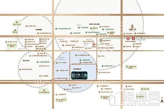 中骏天珑交通图
