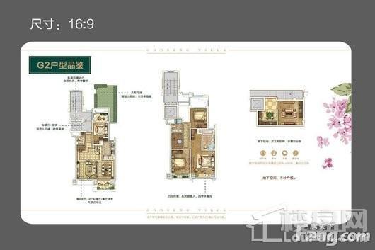 绿地天呈别墅中叠中套G2 4室2厅3卫1厨