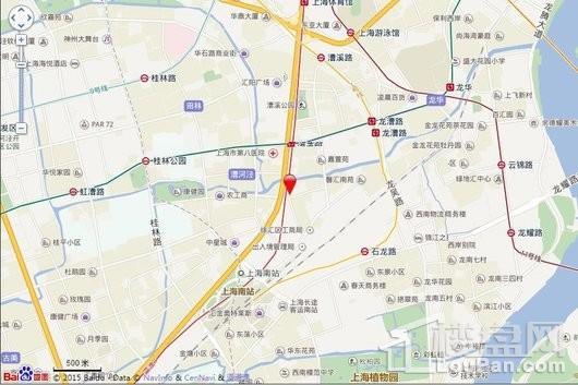 徐汇公园道壹号交通图
