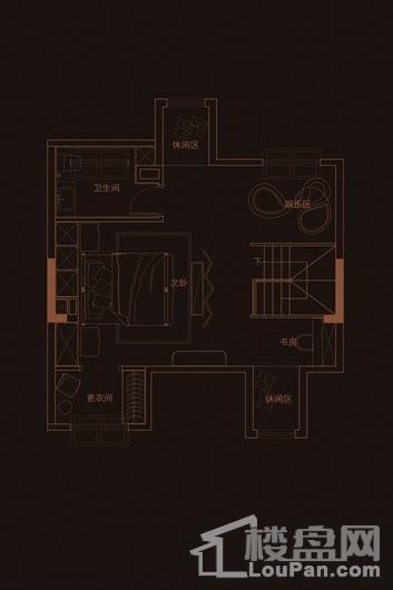 华府天地愉园E2-1户型阁楼 5室2厅4卫1厨