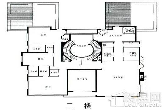 乔爱庄园北联邦式别墅二层 5室4厅5卫1厨