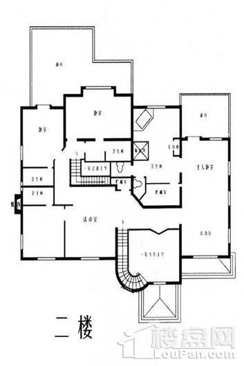乔爱庄园南联邦式别墅二层 5室3厅5卫1厨