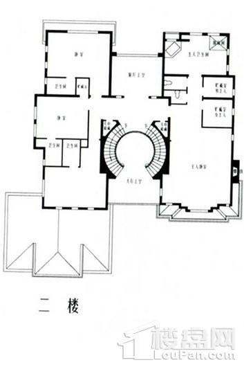 乔爱庄园地中海式别墅二层 5室5厅5卫1厨