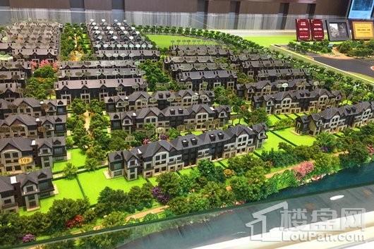 新城上坤樾山美墅实景图
