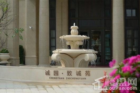 绿城上海诚园实景图