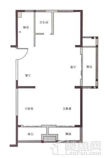 嘉善东鼎名人府邸二期户型图