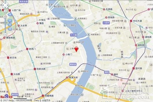绿城黄浦湾交通图