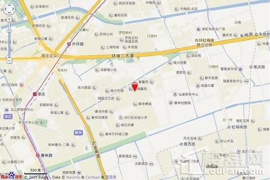 春申景城MID-TOWN交通图