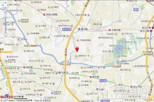 苏宁天御国际广场交通图