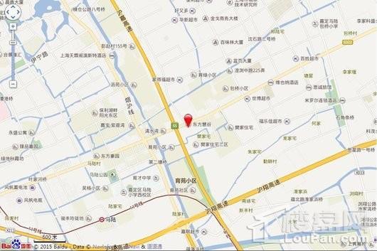 东方慧谷交通图