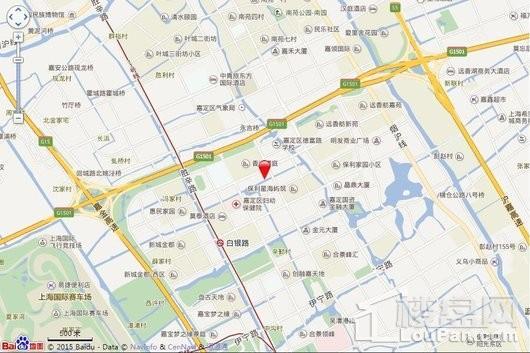 上影广场交通图