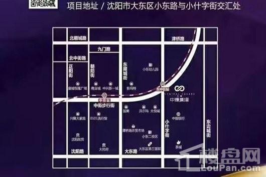 南华中环广场交通图