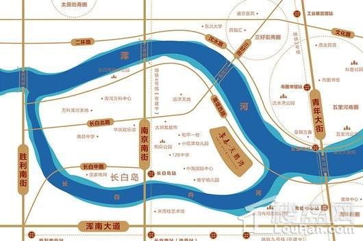 粤泰天鹅湾位置图
