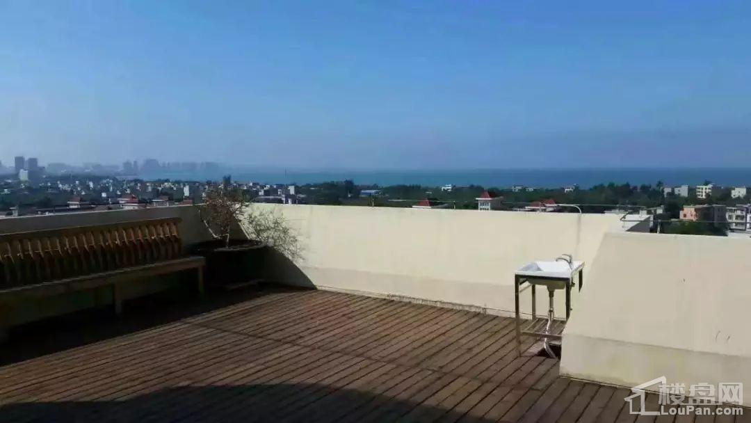汇联海湾明珠二期天台实景图