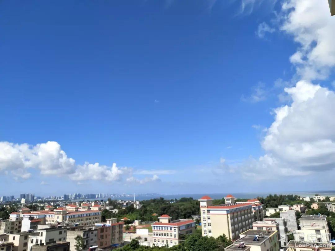 汇联海湾明珠二期阳台海景实景图
