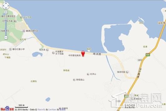 君悦南湾交通图