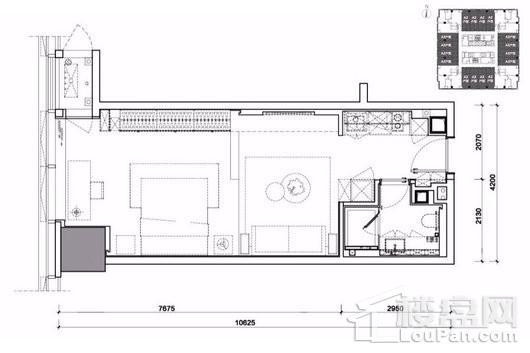 MIXC铂寓户型图