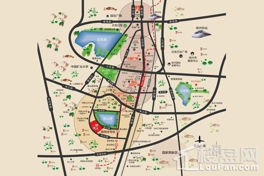 湖悦天境交通图