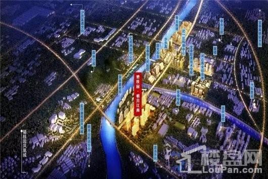碧桂园·明月江南交通图