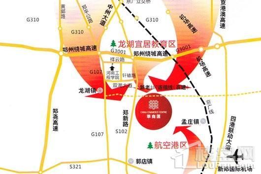 华商汇交通图