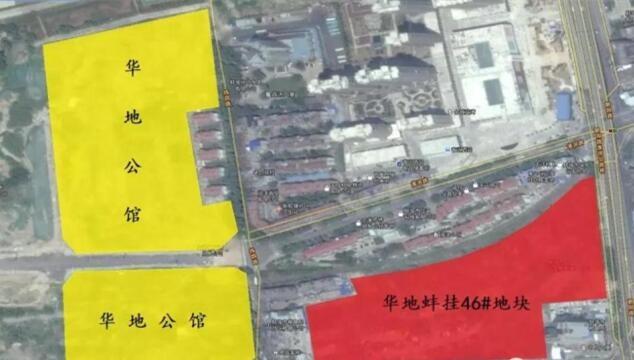 华地弘阳公馆位置图