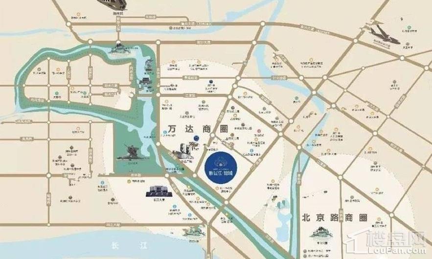 雅居乐锦城位置图