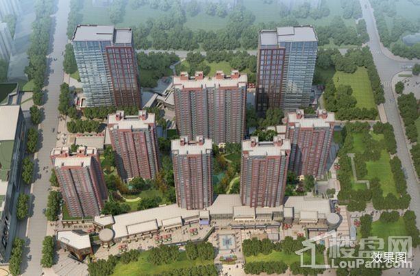 中华城领汇效果图