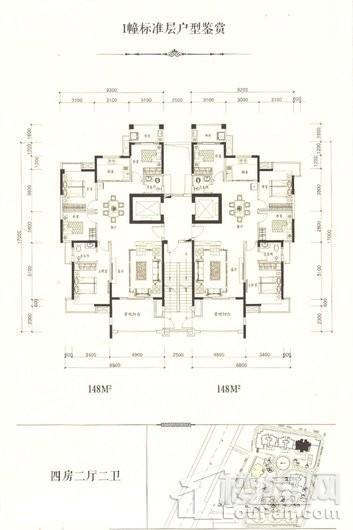 蓝玥湾家园户型图
