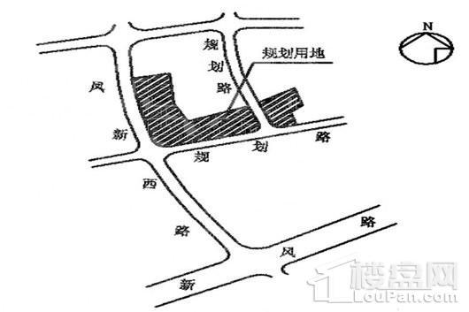 新陶居B区交通图