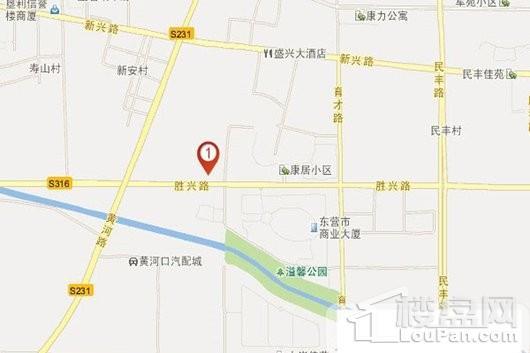 金辰风尚时代广场交通图