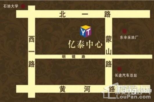 亿泰中心交通图