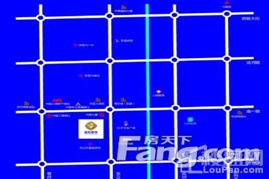 金石国际大厦交通图