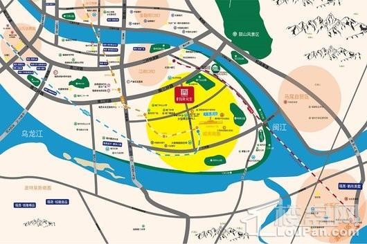 福晟·钱隆双玺交通图