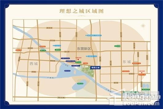 理想之城·百合园交通图