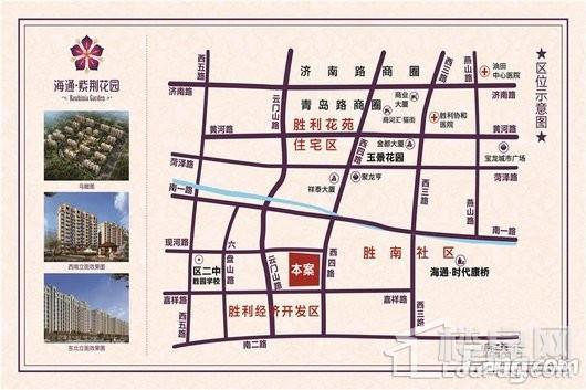 海通·紫荆花园交通图