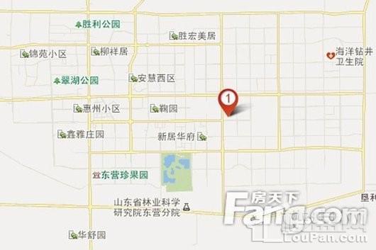 黄蓝时代(东营)国际金融港交通图