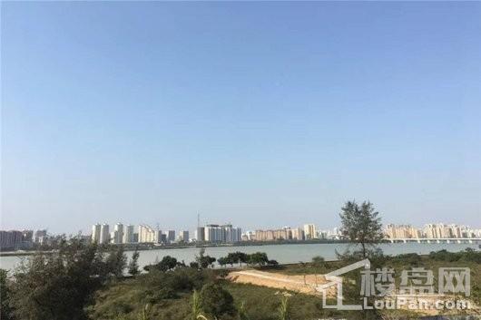 美林江畔实景图
