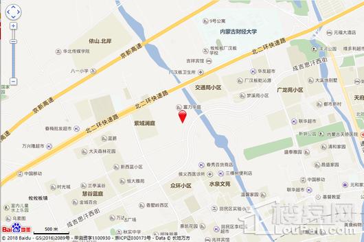 慧谷臻园交通图