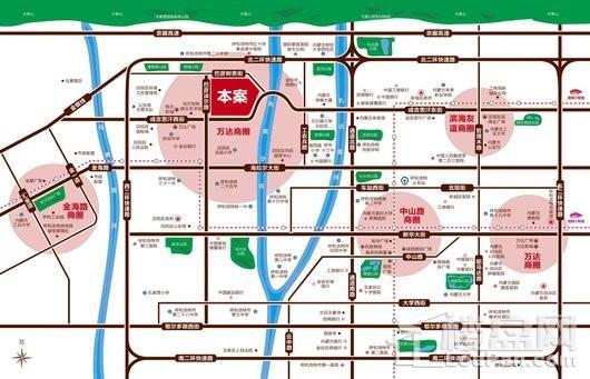 祥生·东方樾交通图