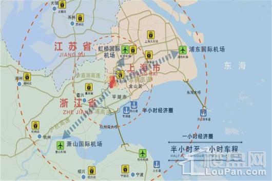 福晟天地交通图