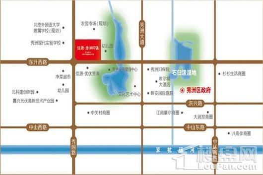 佳源·秀湖印象交通图