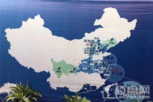 孔雀城·翰景悦府交通图