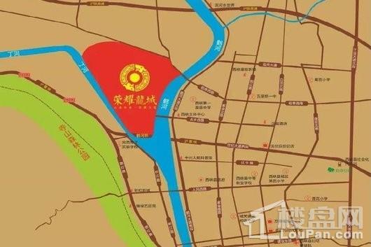 荣耀龙城交通图