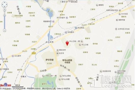 华新锦绣尚郡交通图
