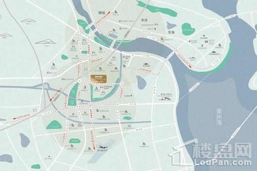 福捷上悦府区位图