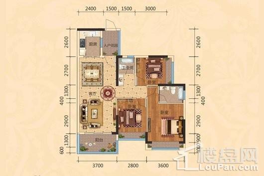 丰华和家园户型图