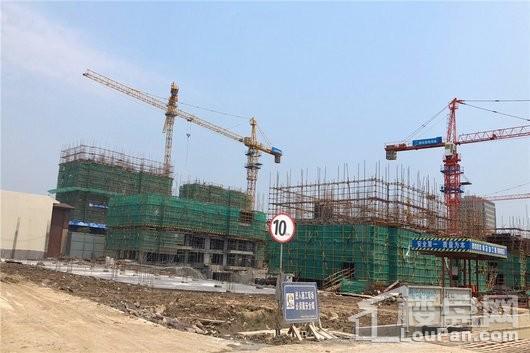 海盐碧桂园·海湾1号在建工地