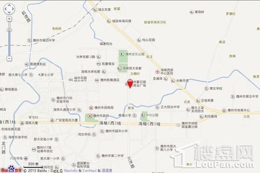 鼎尚·时代广场交通图